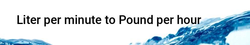 liter per minute to pound per hour converter cm2feet com cm2feet com